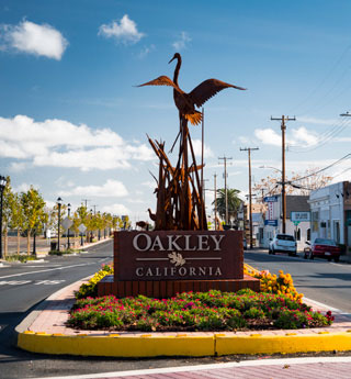 Oakley California Signage